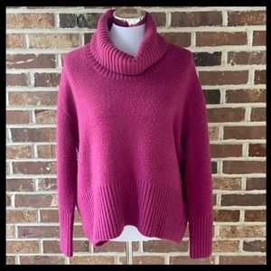 Oversized Cowl Neck Sweater